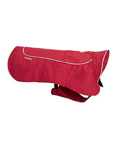 Ruffwear Full Coverage Waterproof Rain Coat for Dogs, Miniature Breeds, Size: XX-Small, Red Rock, Aira, 0580-605S2 1