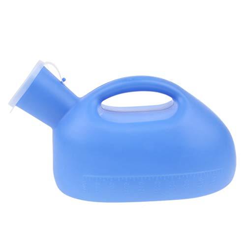 IPOTCH Urinflasche für Männer Urinal Bottle Wiederverwendbare Portable 2000ml