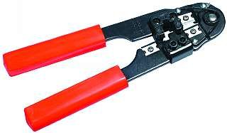 Crimpzange für RJ45 mit Kabelschneider Cutterzange Kabelzange McDrill