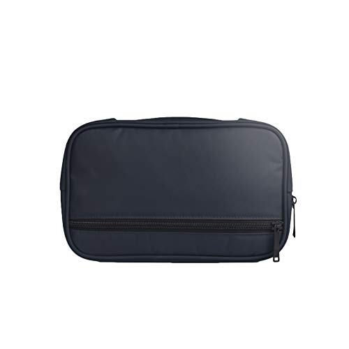 Doitsa Multifunktions-Aufbewahrungstasche digitales Zubehör Aufbewahrungstasche Maus-Datenkabel Mobile Power Protection Bag Headset-Tasche 24 * 6 * 15CM Navy 24 Headset