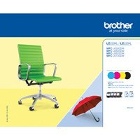 BROTHER VALUE PACK NERO CIANO MAGENTA GIALLO MFC-J5320DW, MFC-J5620DW, MFC-J5720DW