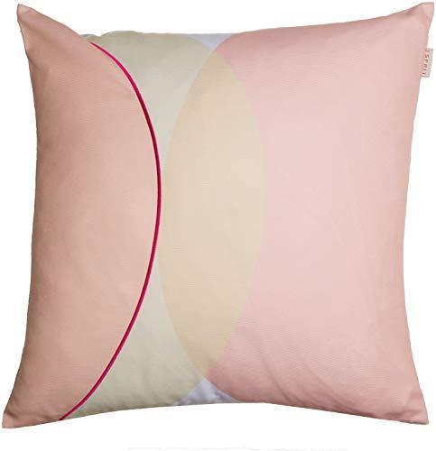Zierkissenhülle Kissenbezug Zierkissenbezug - Größen: 40 x 40 cm / 45 x 45 cm / 40 x 60 cm - Farben: Petrol/pink/blau/bunt/Mint/lachs/Rose/grau ()