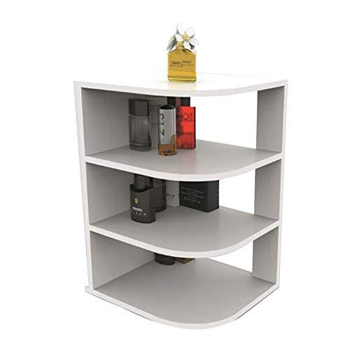 YQQ-Regal Kreativ Kleines Bücherregal Tischregal Bücherregal Desktop-Top-Frame Einfaches Schüler-Bücherregal 25 X 28,5 X 45 cm Weiß - Kleine Hängende Bücherregal