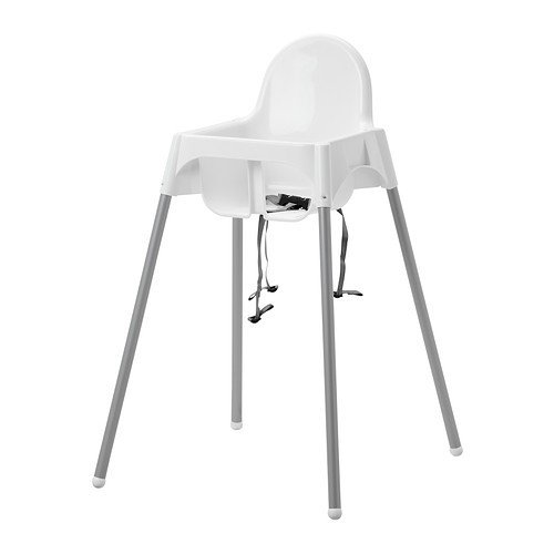 IKEA 'Antelope' Children's High Chair with Safety Strap, Mobile with Detachable Legs 31v0AQvNIfL