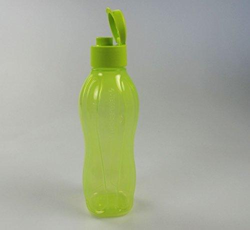 TUPPERWARE öko-eau jaune jus bouteille eco gourde 750 ml