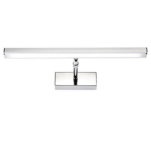 XUERUI Lampe De LED, 7W-14W Chauffent Les Lumières Blanches De Salle De Bains, Conducteur D'EMC, 39-59CM X 7CM X 4.5cm, Énergie Savin (Couleur : Blanc chaud, taille : 39cm)