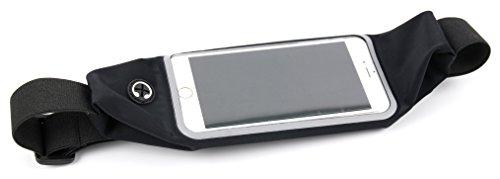 DURAGADGET Für BQ Aquaris M4.5 | M5 | M5.5 | Aquaris X5 Cyanogen Edition: Smartphone-Hülle für Hüfte, Bauch, Brust und Gesäß – mit verstellbarem Steckverschluss und Bedienfenster