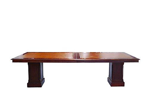 Tisch Schreibtisch Konferenztisch Studio Globe Wernicke Antik Stil L:293cm(6403)