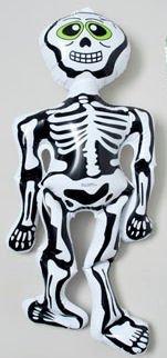 Inflatable Halloween Figures Skelton by Bestway Store