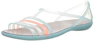 Crocs Women's Isabella Flat Sandal: : Schuhe