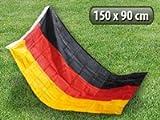 Pearl, bandiera della Germania:bandiere della Germania, 150x 90cm, in poliestere resistente agli strappi.