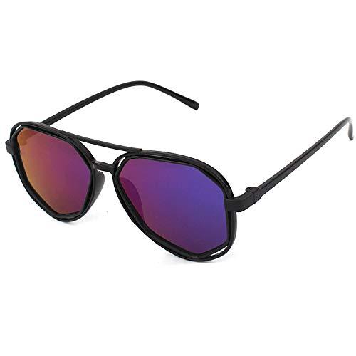 en Männer und Frauen Bunte Trends Tiger Head Mode Big Frame Sonnenbrillen Sonnenbrillen ()