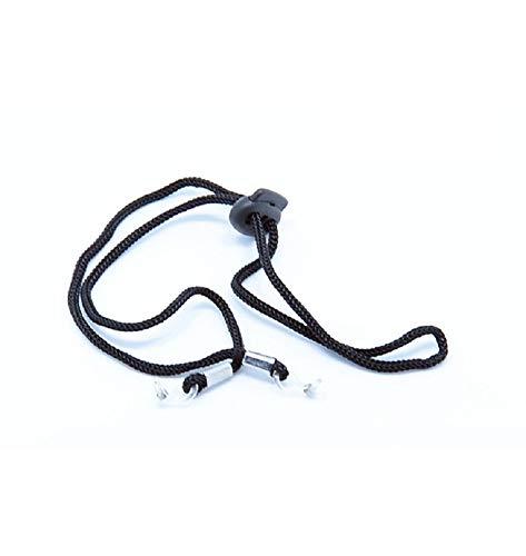 glasstore 12 Stück Sport Brillenkette Sonnenbrillen Band Halteband Halter mit Verstellbarer Schnalle