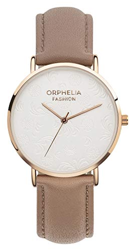 Orphelia Fashion Damen Analog Quartz Uhr Iconic mit Leder Armband