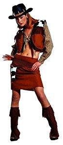 senenkostüm Cowgirl, 52 (Sexy Bandit Kostüme)