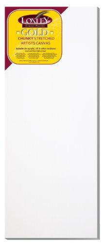 Loxley Gold LCC-4016 - Lienzo preestirado, Color Blanco