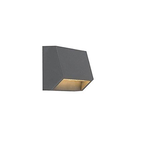 qazqa-modern-wall-lamp-wall-light-sandstone-1-dark-grey-polyester-rectangular-includes-led-non-repla