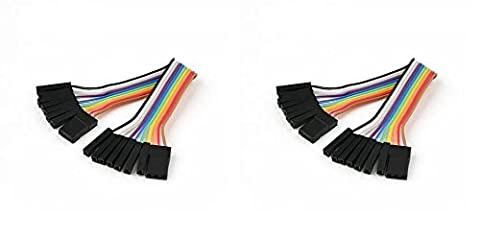 2 x Quantity of Walkera Runner 250 (R) Advanced GPS Quadcopter Drone (100mm) Super Clean RC Male to Male Ribbon Extensions Set(Servo Connector) - FAST FREE SHIPPING FROM Orlando, Florida USA!