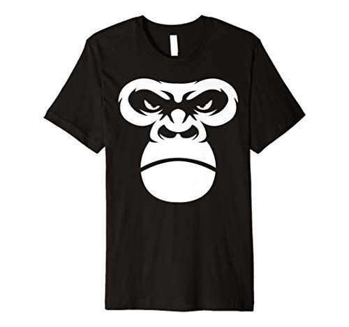 Gorilla-Gesicht-Primate Affe Kostüm)