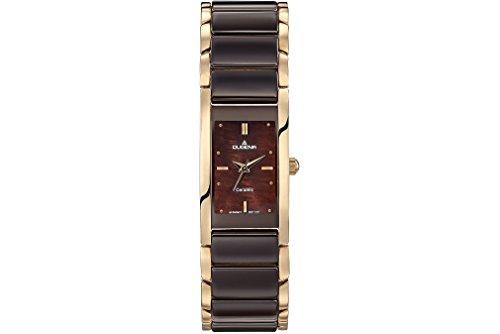 Dugena Women's Analogue Quartz Watch with Ceramic Strap 4460769