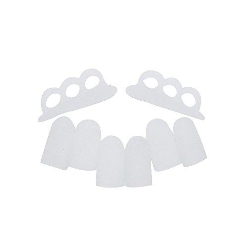 Silicone gel tubo benda finger & toe Protectors guardia di piede Piedi sollievo dal dolore (Bunion Bandage)