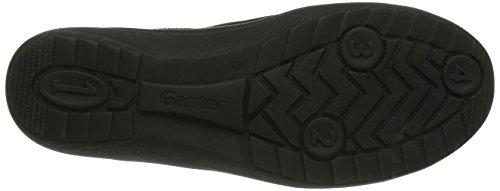 Ganter  HILDE, Weite H, Derbies à lacets femme Gris - Grau (schwarz 0100)