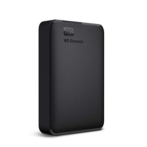 WD Elements 1TB Portable External Hard Drive Black Price in India