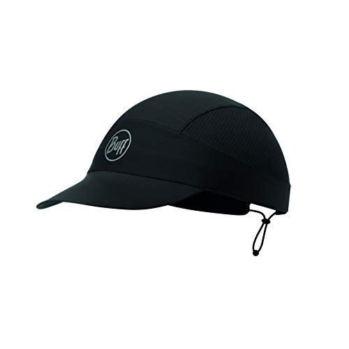 Buff R-Solid, Cappello Pack Run Unisex - Adulto, Black, Taglia Unica