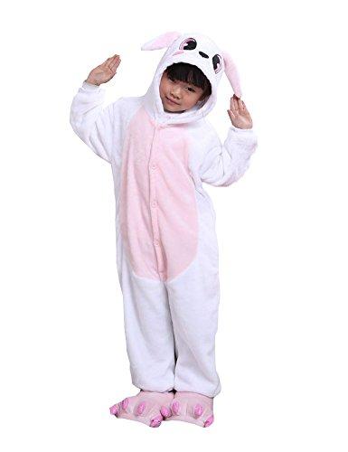 Cliont Kinder Tier Onesie Kaninchen Pyjamas Kigurumi Weihnachten Kinder Sleepwear Kostüm Anime (2 Esel Kostüm Mann)