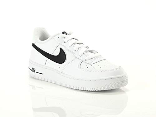 new product 9833d ace57 Nike Air Force 1-3 (GS), Chaussures de Basketball Homme, Blanc