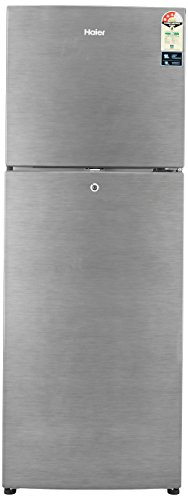 Haier 247 L 3 Star Frost-Free Double Door Refrigerator (HRF-2674BS-R/HRF-2674BS-E, Brushline Silver)