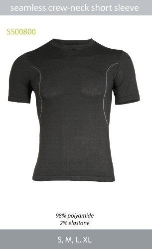 Brubeck DIRT Herren Biker-Shirt (Trikot kurzarm Rundkragen Funktionswäsche ), DIRT Größen:SS00800 / L (Nahtloses Trikot)