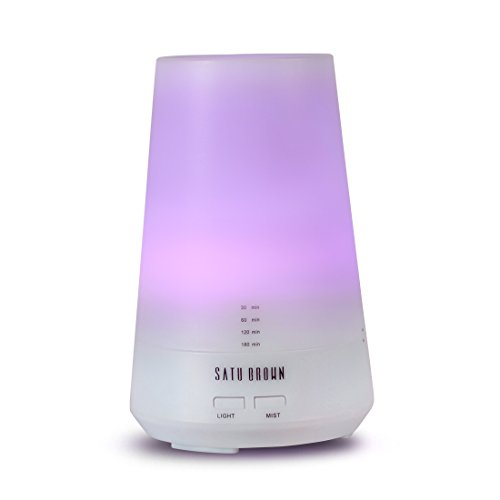 aroma-essential-oil-diffuser-satu-brown-100ml-ultrasonic-cool-mist-aromatherapy-humidifier-with-4-ti