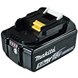 Makita 197280-8 Lithium-ION 5000mAh 18V Batterie Rechargeable - Batteries Rechargeables (5000 mAh, Lithium-ION (Li-ION),...