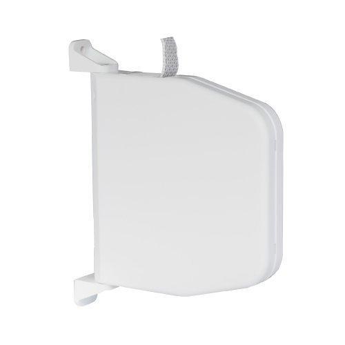 Preisvergleich Produktbild Selve Gurtwickler 084803 Aufputz weiss mit Scharniersystem incl. 5m Gurt f. Rolladen