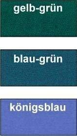 Billardtuch Iwan Simonis 760 für Pool, Farbe Gelb/Grün, Breite 165 cm