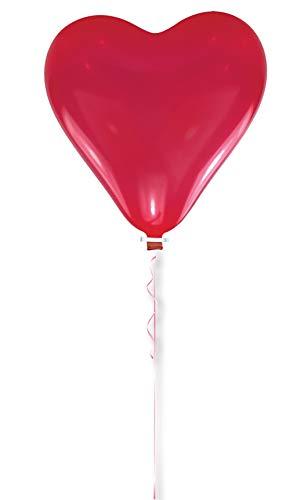 amscan Latex Riesenballon Herz 170 - Riesen Ballon Kostüm