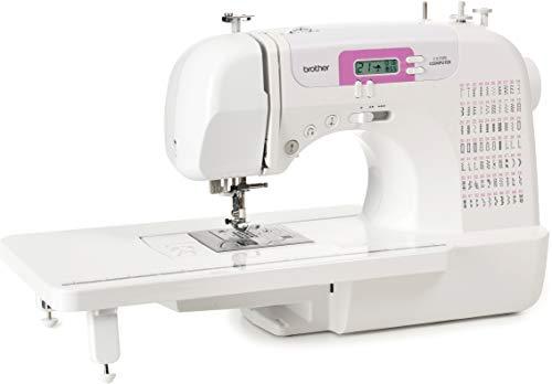 Brother CX70PE (Patchwork Edition) - Máquina de coser electrónica con 70 puntadas de costura (útiles, elásticas, decorativas), costura Automática, Display multifunción + Mesa Quilt & Patchwork