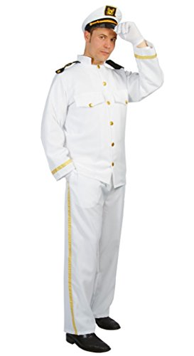 Matrose Kostüm Navy Captain Kommandierender Offizier uniform