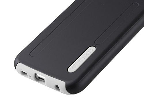 Melkco Kubalt Double Layer Case für Apple iPhone 6 weiß/schwarz Schwarz/Weiss