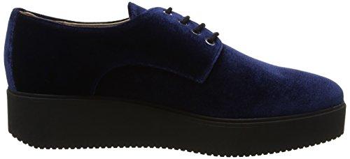 Unisa Damen Caler_f17_vl Derbys Blau (azul)