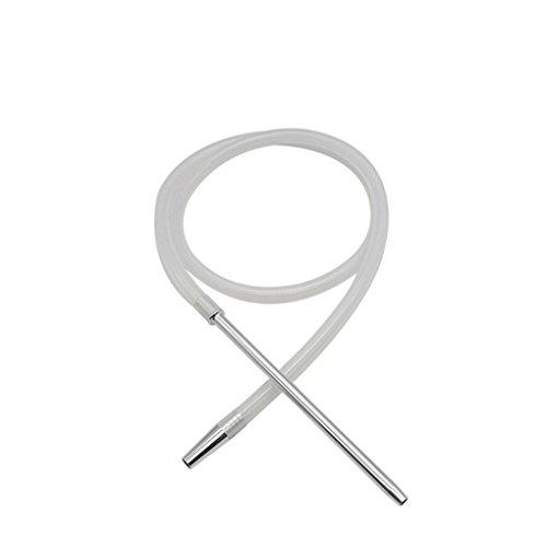 LUFA 1.8M Shisha Shisha Schlauch mit Aluminium Vorbau Silikon-Schlauch Shisha Shisha Schlauch Moderne Pfeife -