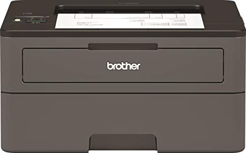 Brother HL-L2370DN Kompakter S/W-Laserdrucker (34 Seiten/Min., A4, echte 1.200x1.200 dpi, Duplexdruck, 250 Blatt Papierkassette, USB 2.0, LAN) - Drucker One All In Portable