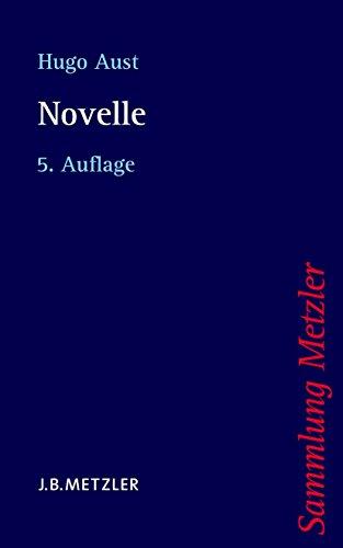 Novelle (Sammlung Metzler)