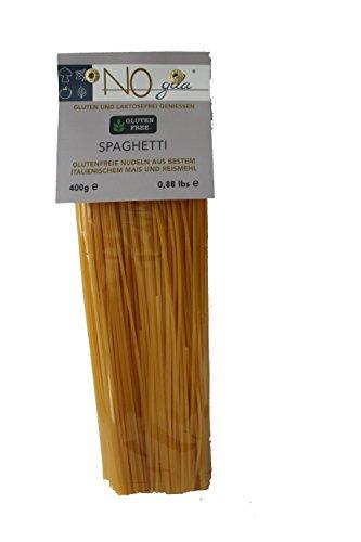 NOglla 100% glutenfreie laktosefreie Spaghetti 400g Pasta Nudeln Lebensmittel aus Reismehl und Maismehl Vegan