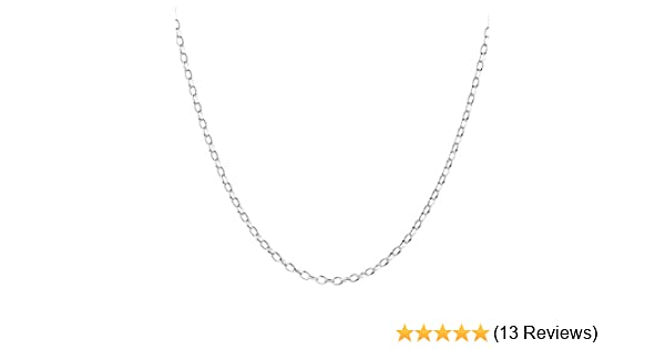 New Sterling Silver Trace  Necklace Chain 30 In 6 Grams 2mm Link /& Gift Pouch
