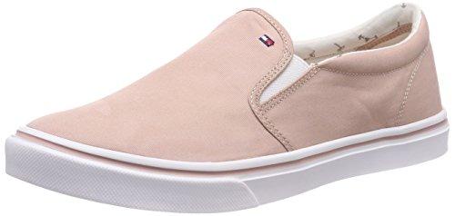 Tommy Hilfiger Damen Metallic Light Weight Slip ON Sneaker, Pink (Dusty Rose 502), 40 EU