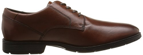 Rockport Tmps Plain Toe, Richelieu homme Marron (Chili)