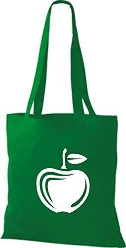 T-shirt Di Stoffa Di Cotone Tinta Unita La Tua Frutta E Verdura Preferita Colore Della Mela Vino Rosso Kelly