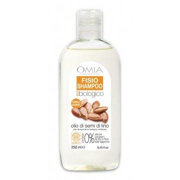 Fisio shampoo olio di semi di Lino Omia Laboratoires
